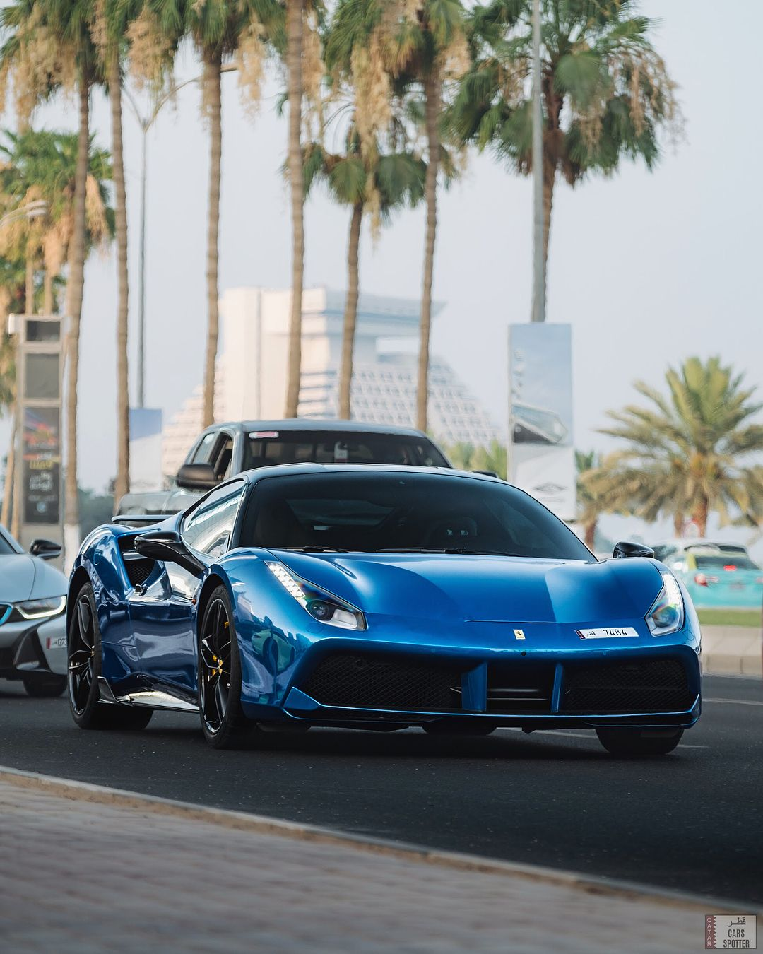 Nicely Specced 488 Ferrari 488 Gtb Spotted At The Ramadan