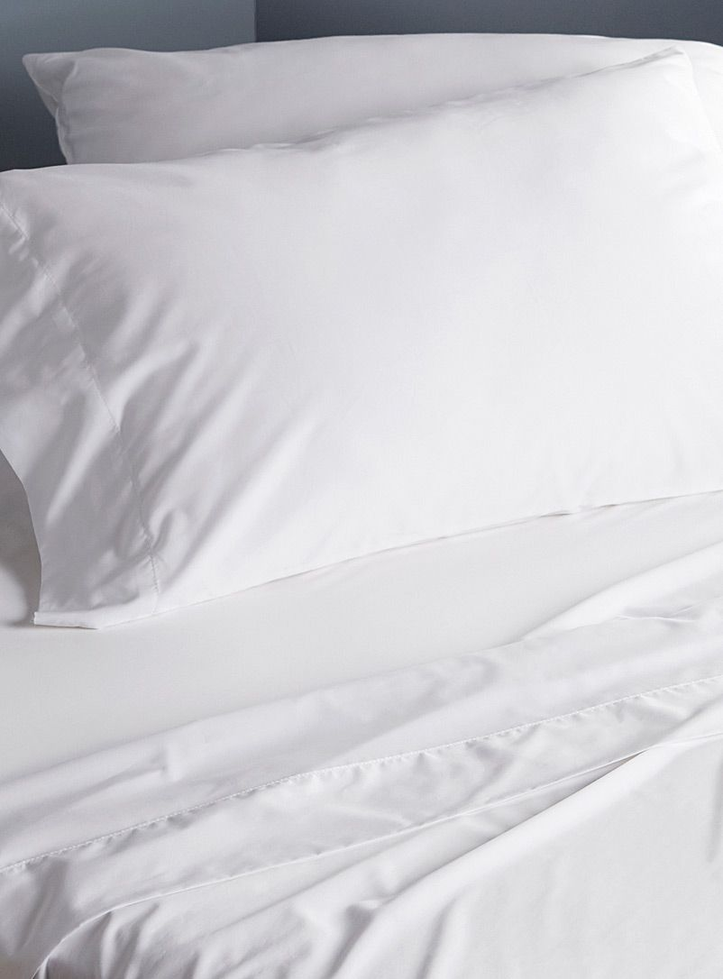 Egyptian Cotton And Bamboo Sheet Set 330 Thread Count Hôtels Le Germain Sheets Pillowcases Online In Canada Simons