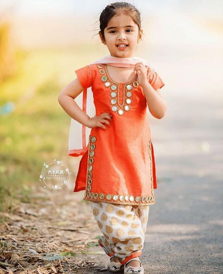 332f9c30d8a6bd0a05c041eebfa9145d Punjabi Dress for Kids- 30 Best Punjabi Outfits for Children
