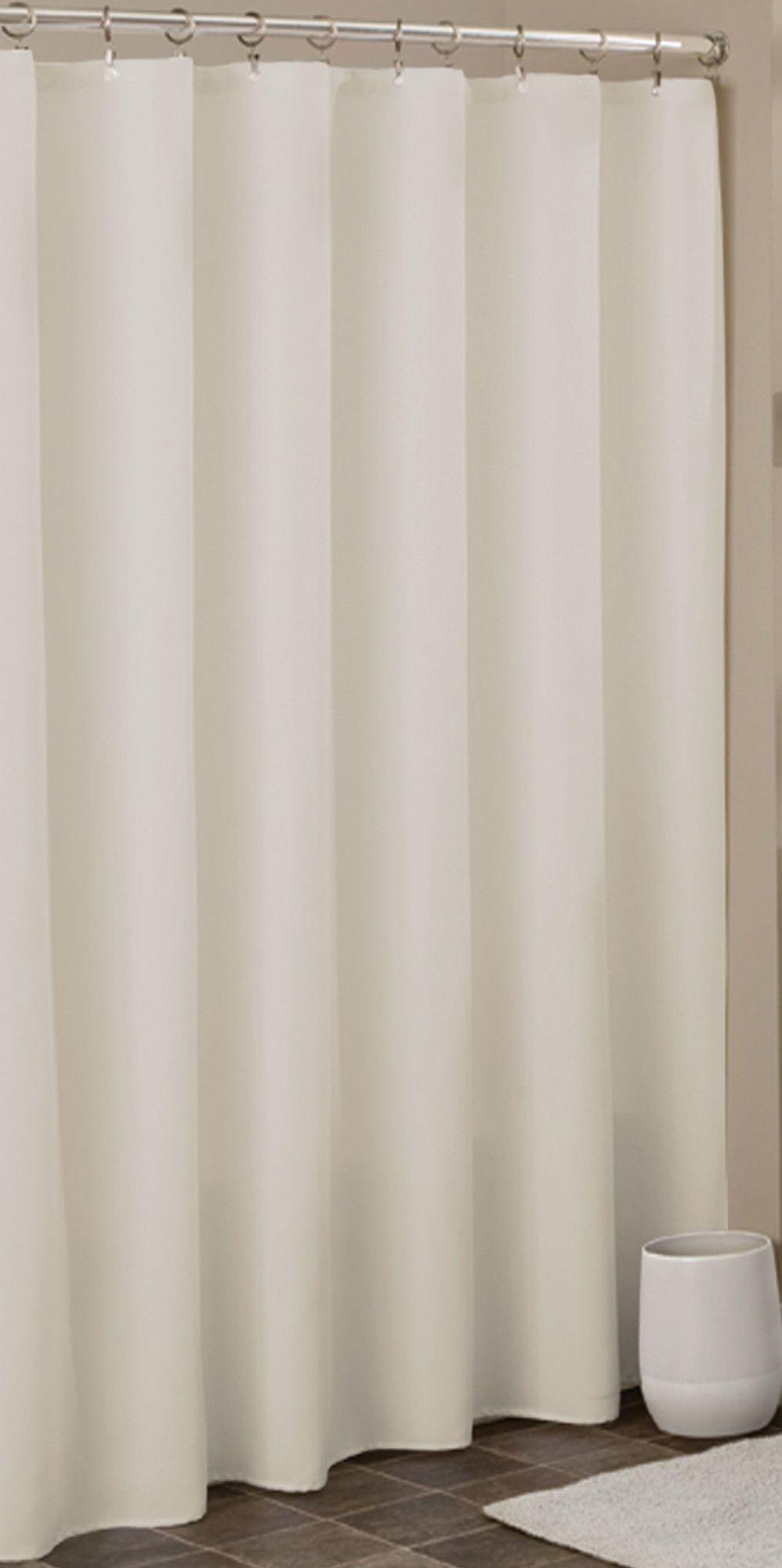 Vinyl Anti Mildew Shower Curtain Liner