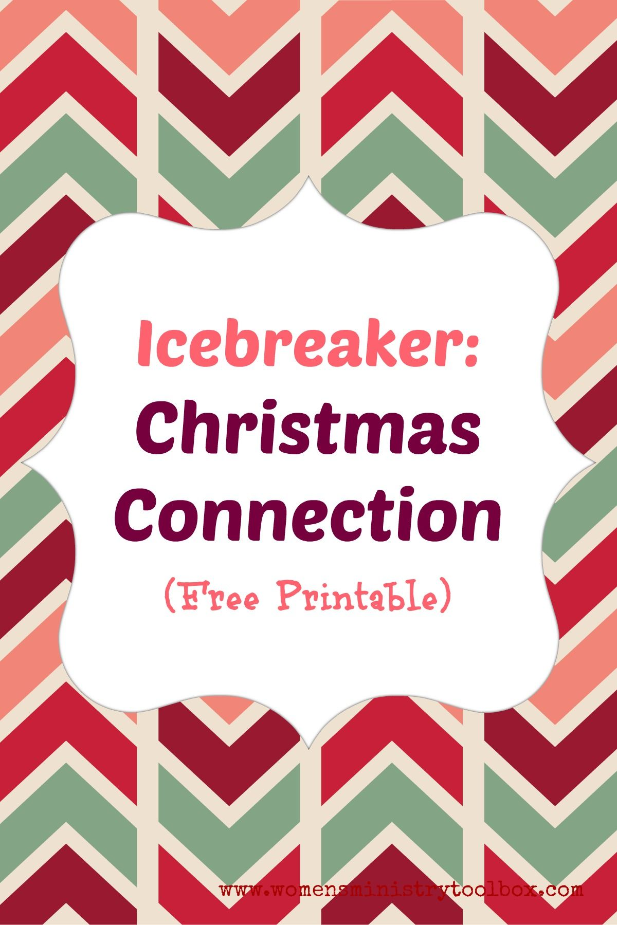 Icebreaker Christmas Connection Free Printable