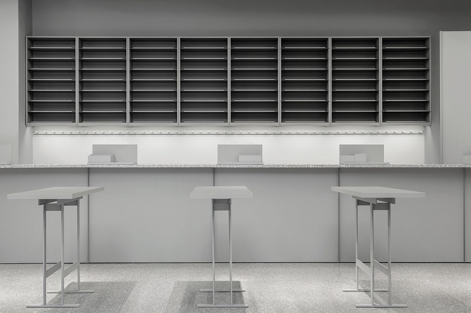 Take a look at the super minimalist interior of one of arkets new