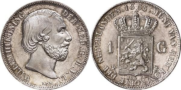 Numisbids Schulman B V Auction 346 Lot 753 Koninkrijk Der Nederlanden Willem Iii 1849 1890 1 Gulden 1865 Old Coins Gold Coins Coins