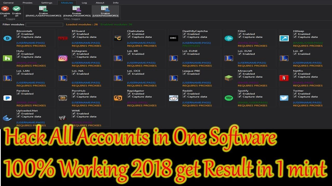 Account Reaper v1 4 0 2 Download || Best Hacking Software