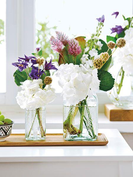kombinieren sie ihre hortensien mit anderen blumen f r ein exotisches aussehen schneiden sie. Black Bedroom Furniture Sets. Home Design Ideas