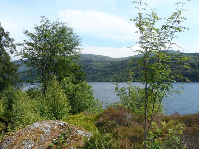 Loch Lomond at Inveruglas on Loch Lomond   Europe a la Carte Travel Blog