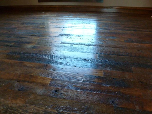 Beautiful 3 Quot Wide Hit And Miss Oak Floor With Clear Finish