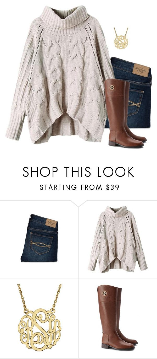 """""""Thankful"""" by ephendricks ❤ liked on Polyvore featuring Abercrombie & Fitch, Tory Burch, women's clothing, women's fashion, women, female, woman, misses and juniors"""