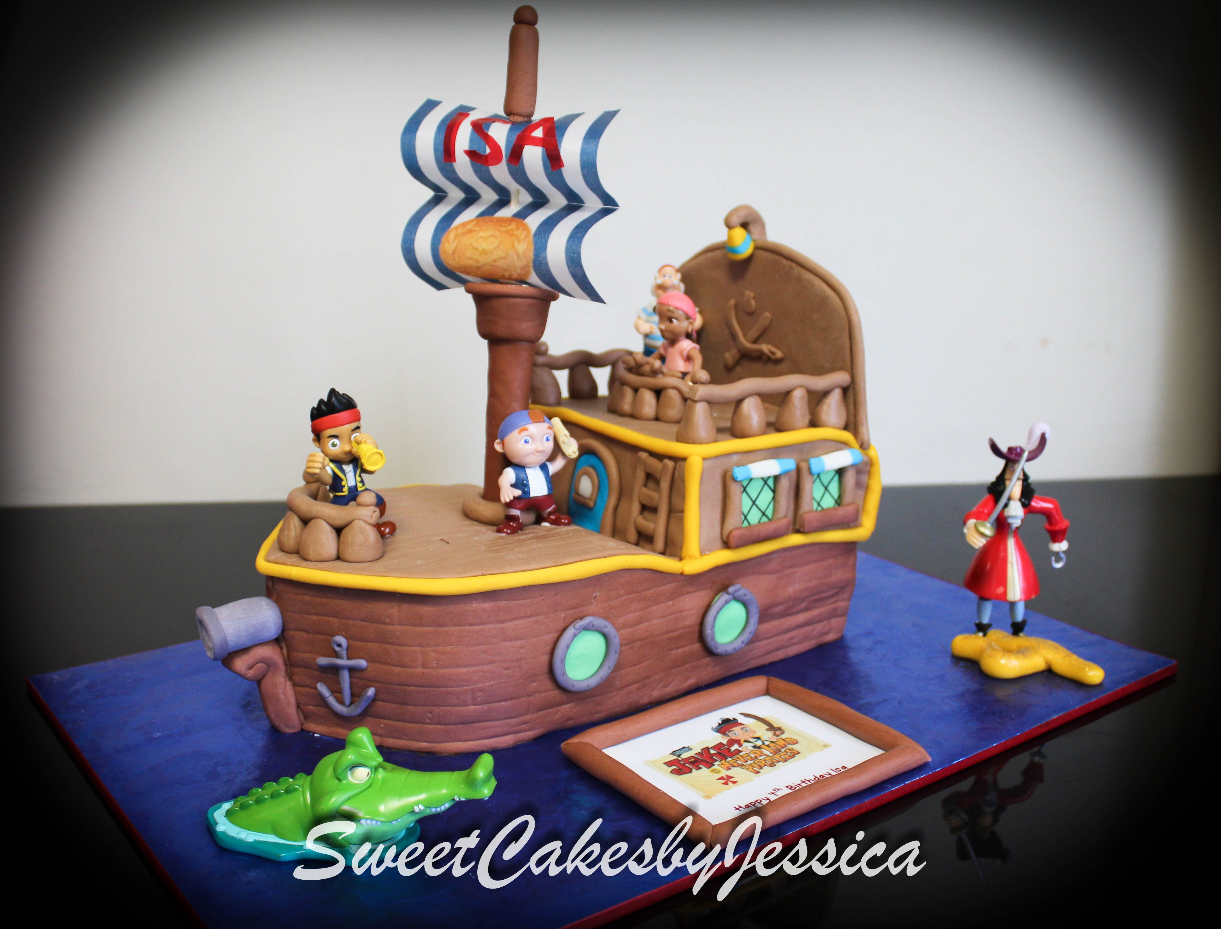 Jake and the Neverland Pirates Captain Hook treasure chest pirate