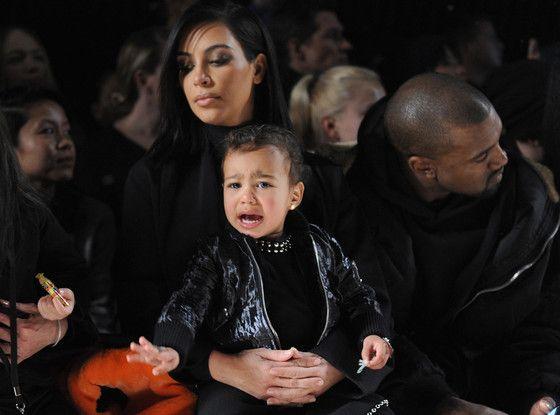 Even Nicki Minaj Can T Stop North West From Crying Again At Nyfw Kardashian Jenner Kim Kardashian And Kanye Kim Kardashian