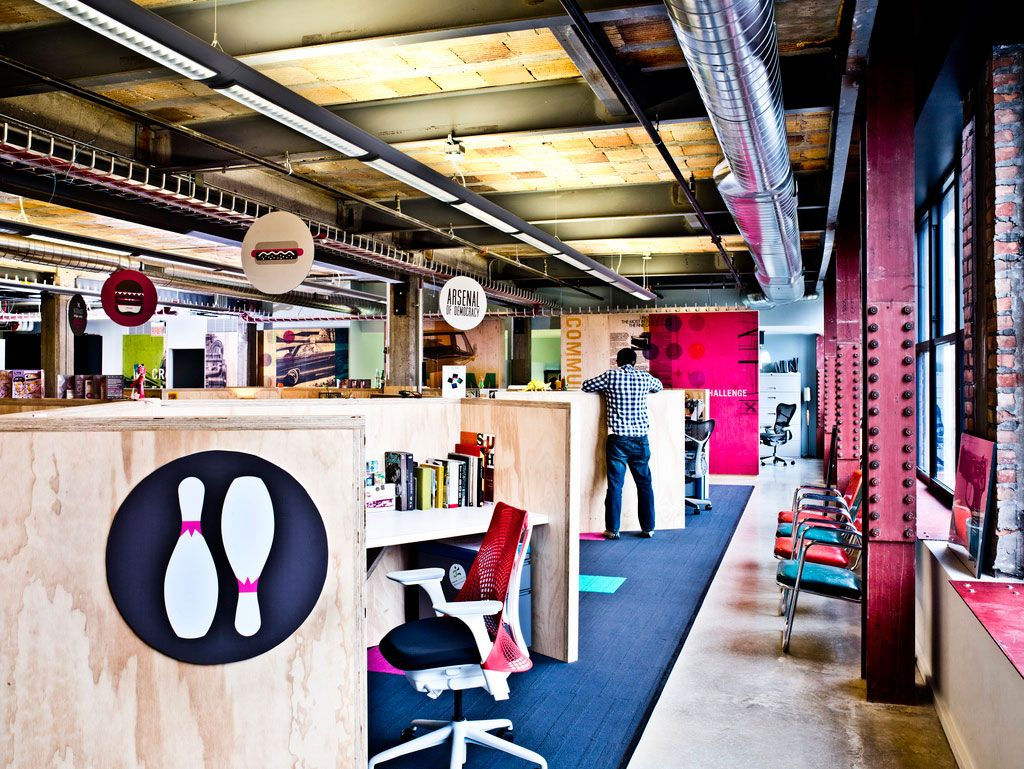 interesting office spaces. The Creative Work Space Interesting Office Spaces T