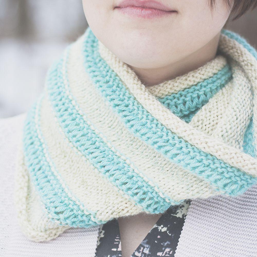 free drop stitch cowl knitting pattern | Knitting | Pinterest ...