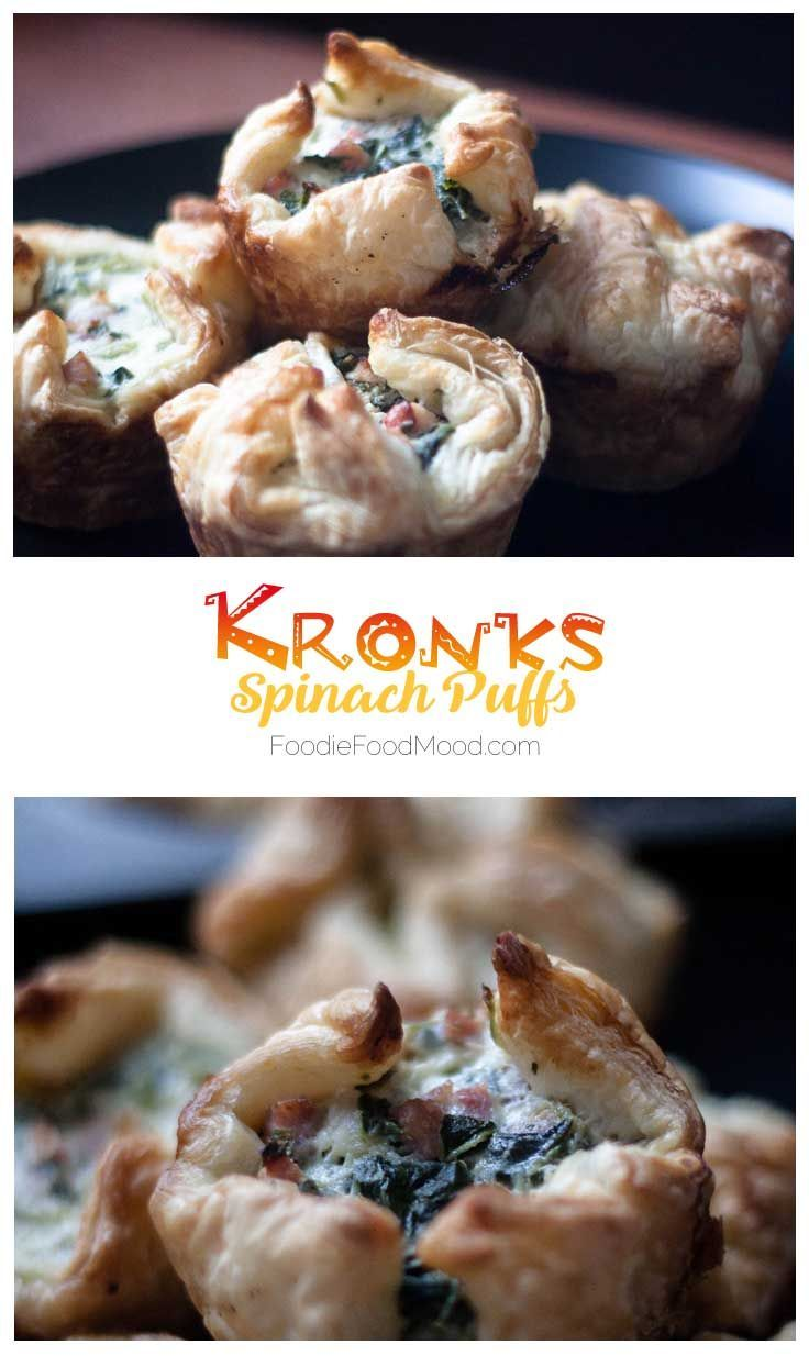 Jul 2 Kronk's Spinach Puffs (With images) Food, Tasty