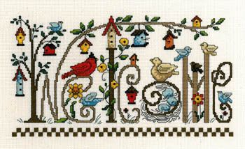 Every Bird Welcome - Cross Stitch Pattern