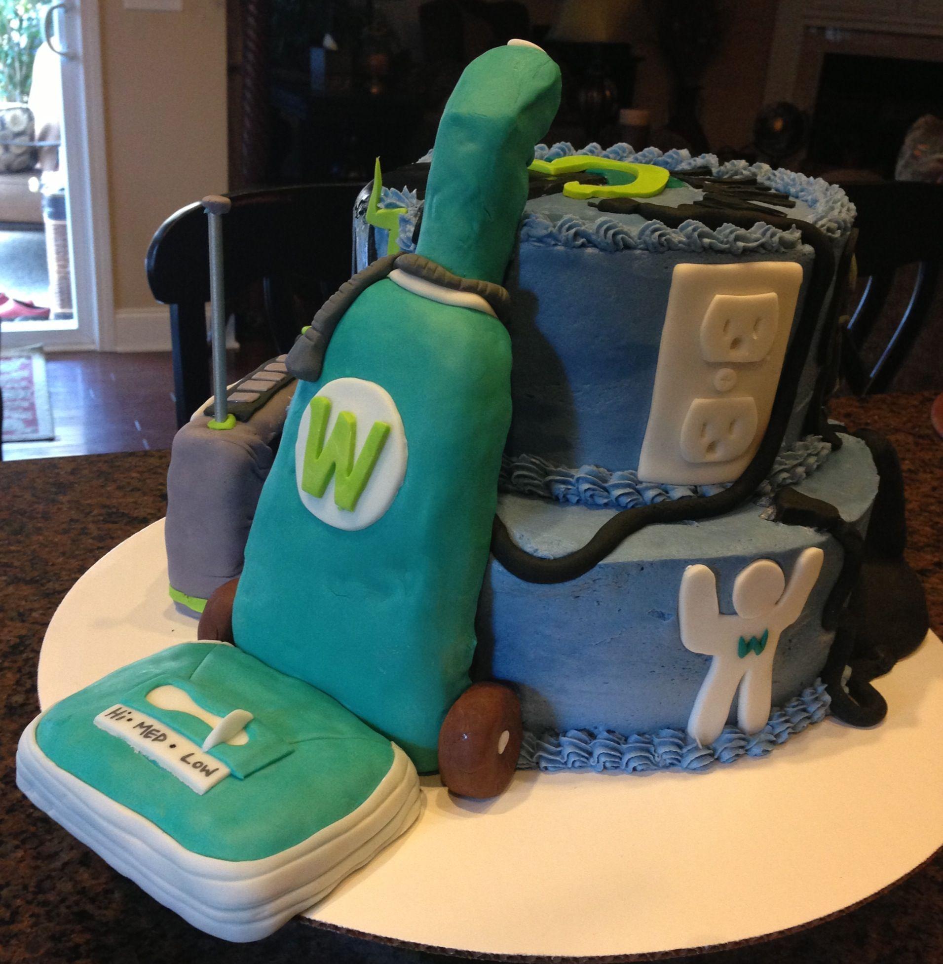Vacuum Cleaner Cake 2nd Birthday Pinterest
