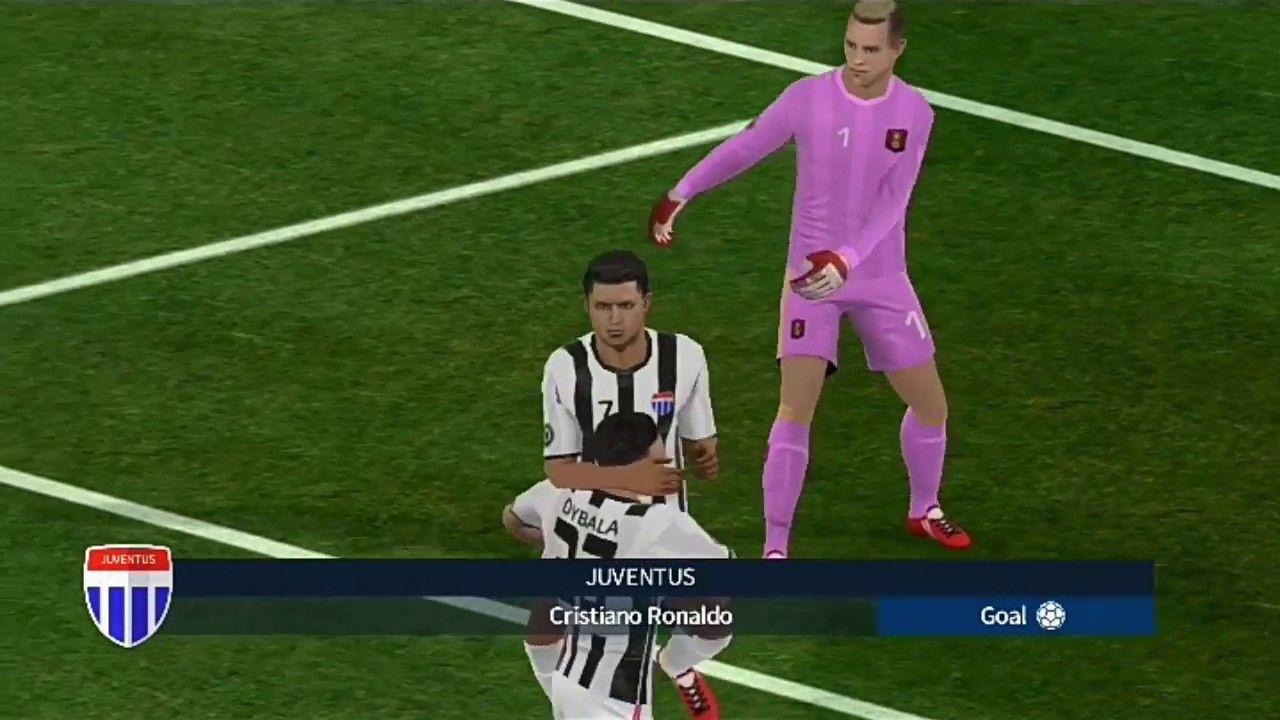 Barcelona 0 2 Juventus Dream League Soccer 2018 Gameplay 04 Ronaldo Goals Cristiano Ronaldo Goals Cristiano Ronaldo