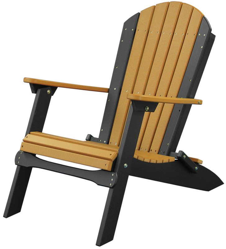 Folding Adirondack Chair   Ohio Hardwood Furniture