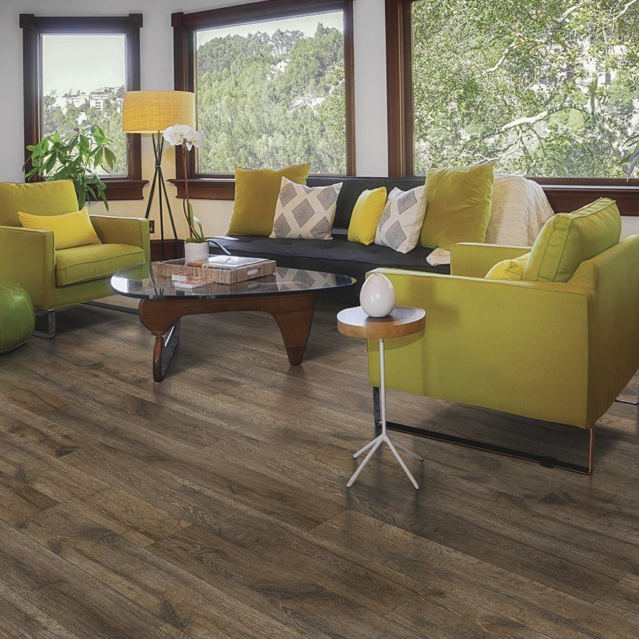 Shop Mohawk 7 48 In W X 4 52 Ft L Aberdeen Oak Embossed