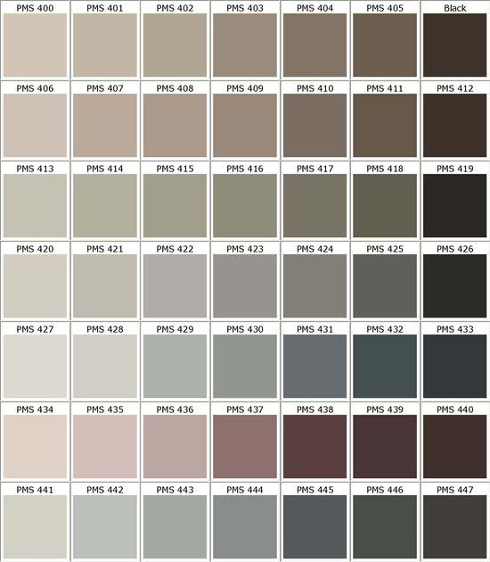 Pantone Color Palettes Pinterest Pantone Color Chart Pantone