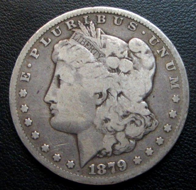 1879 Morgan Dollar Silver Coin Co 1700 Silver Coins Old Coins Worth Money Valuable Coins