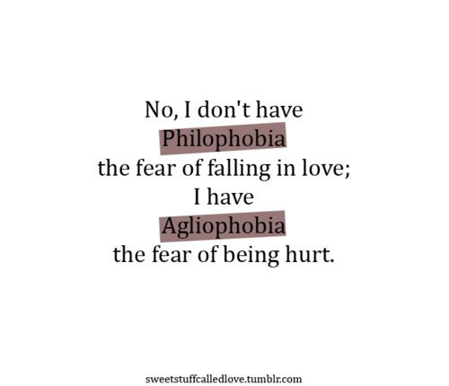 list of phobias tumblr | Phobic Phobias | Pinterest | My ...