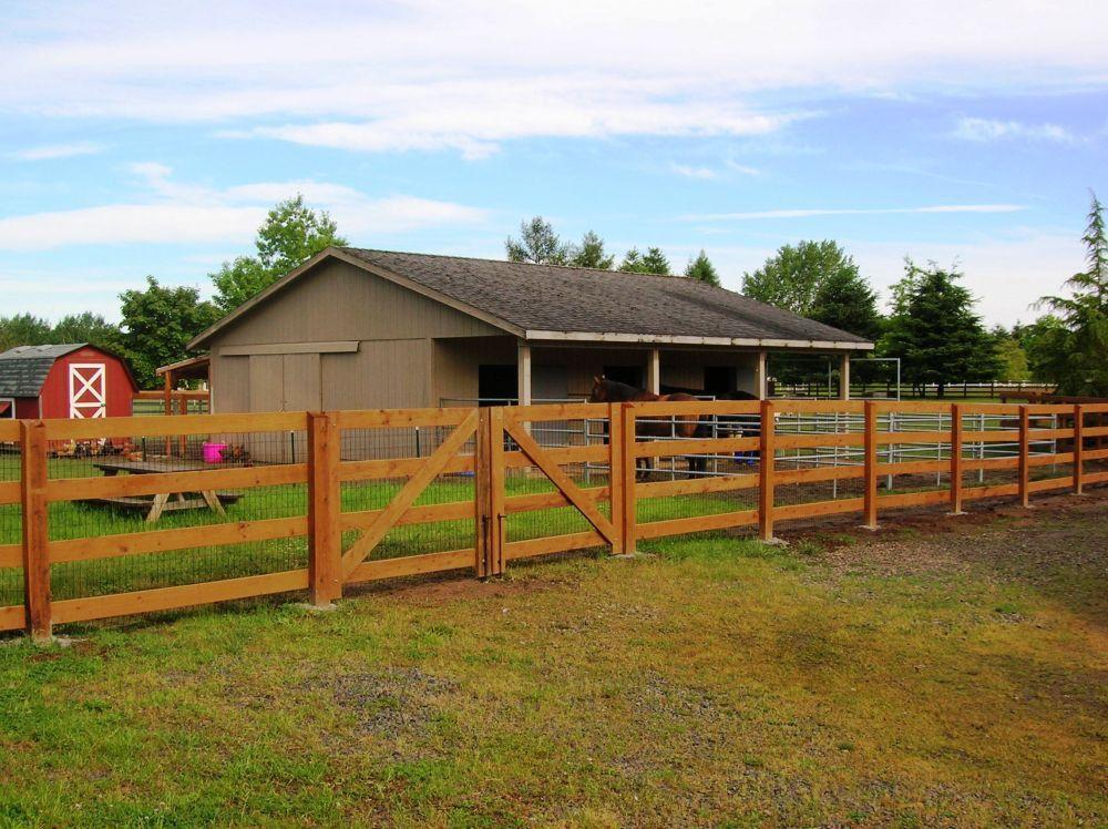 Awesome split rail fence gate design ideas http