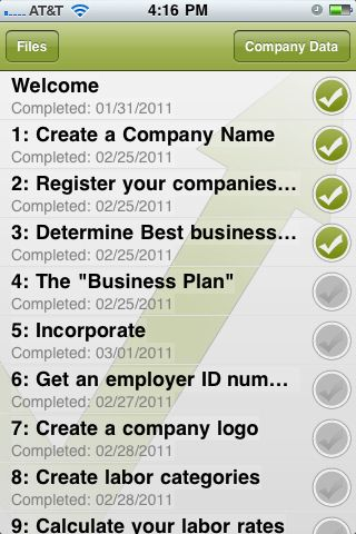 Startup Checklist is a premium iOS application that provides