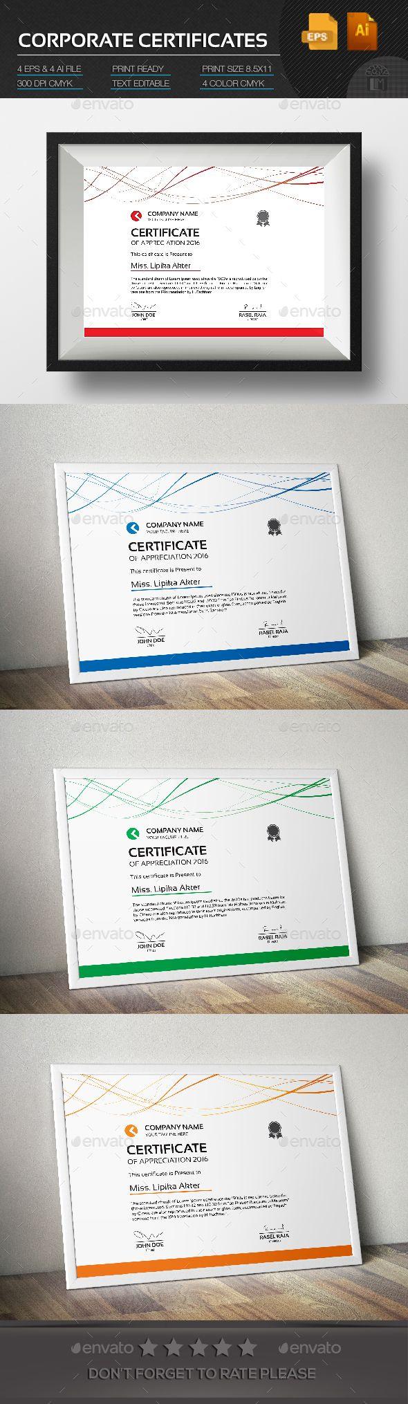 Corporate Certificate   Pinterest