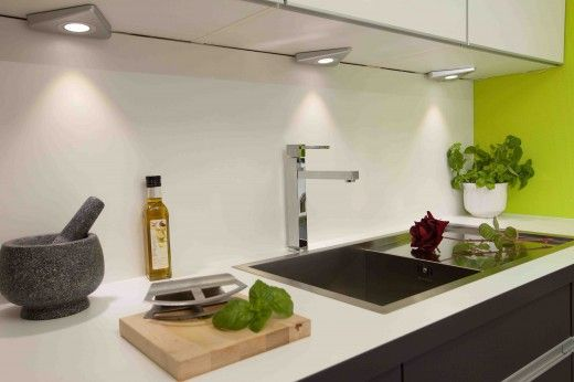 Charming Incorporate Task Lighting Under Your Kitchen Wall Units So That The Work  Surfaces Beneath Are Well