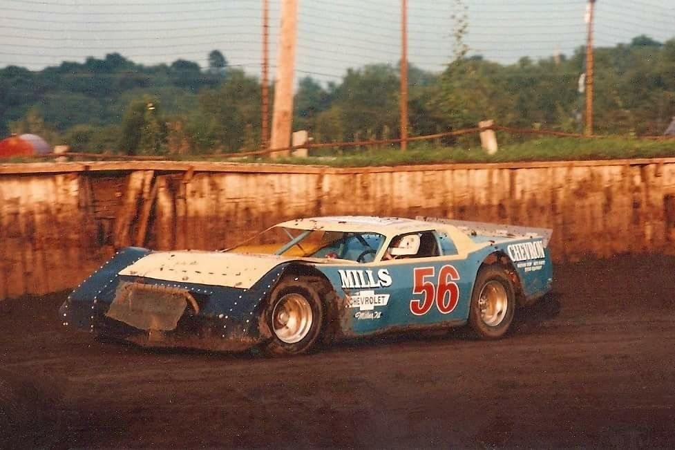 Gary Webb 1982 Todd Healy photo Dirt late models