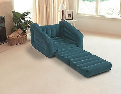 Miraculous Inflatable Convertible Sofa Guest Lounger Chair Sleeper Creativecarmelina Interior Chair Design Creativecarmelinacom