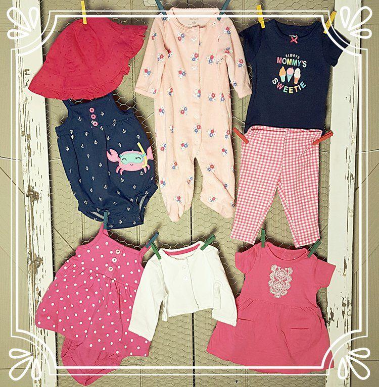 Wee Wardrobes: Brand new clothing, sizes (newborn- 6x/7 ...