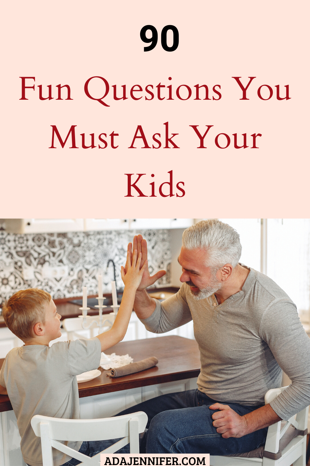 Photo of 90 cool questions to get your kid talking, hilarious questions children are aske…