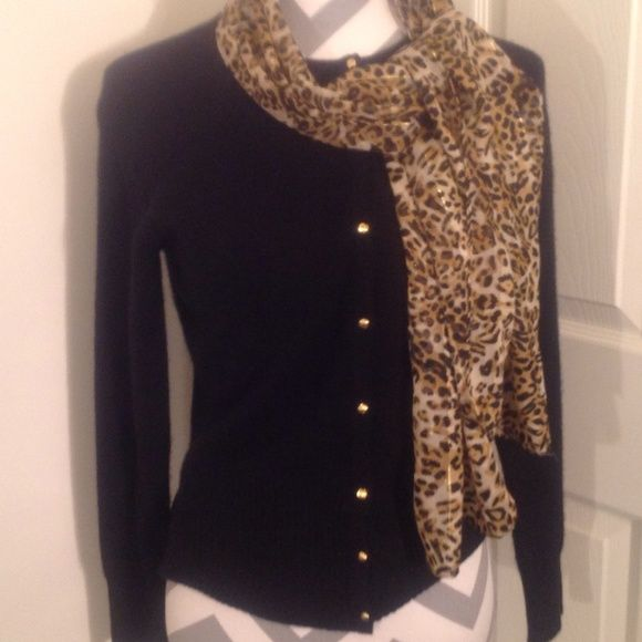 Apt 9 100% Cashmere Sweater size S This is an Apt 9 100% Cashmere Sweater.  It is a size Small.  It is black with gold buttons going in the middle.  The width is about 17 inches and the length is about 22.5 inches. Apt. 9 Sweaters Cardigans