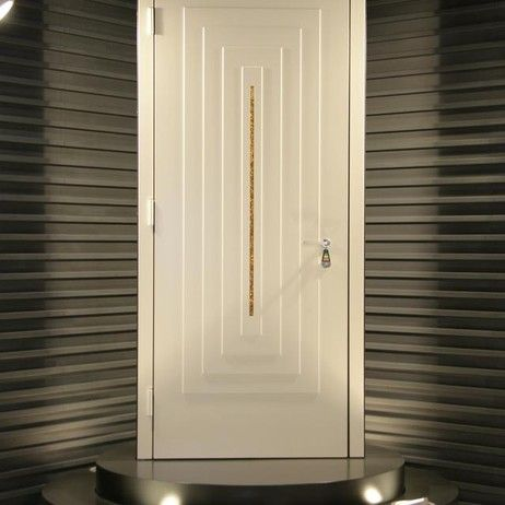 Ercole White Swarovski Italian Exterior Door By The Door Expo Dfi