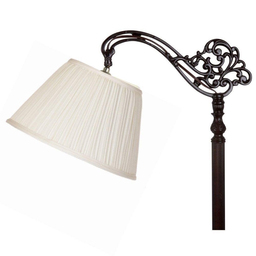 Upgradelights® 12 Inch Uno Lamp Shade Replacement In Pleated Eggshell **  Check Out This