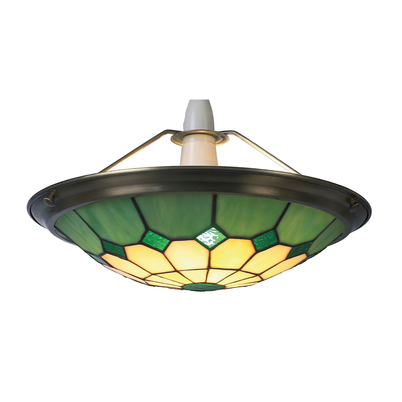 hanging and custom style ceiling glass ceilings mission inverted art bronze green lotus yellow pendant light mediterranean lamp genuine rc plus lighting springdale lamps traditional blue tiffany splendent mini