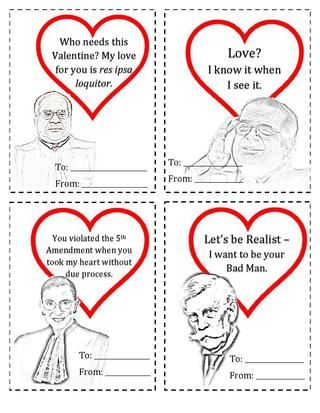 Georgetown Law Weekly Supreme Court Valentines Law School Humor Law School Inspiration Legal Humor