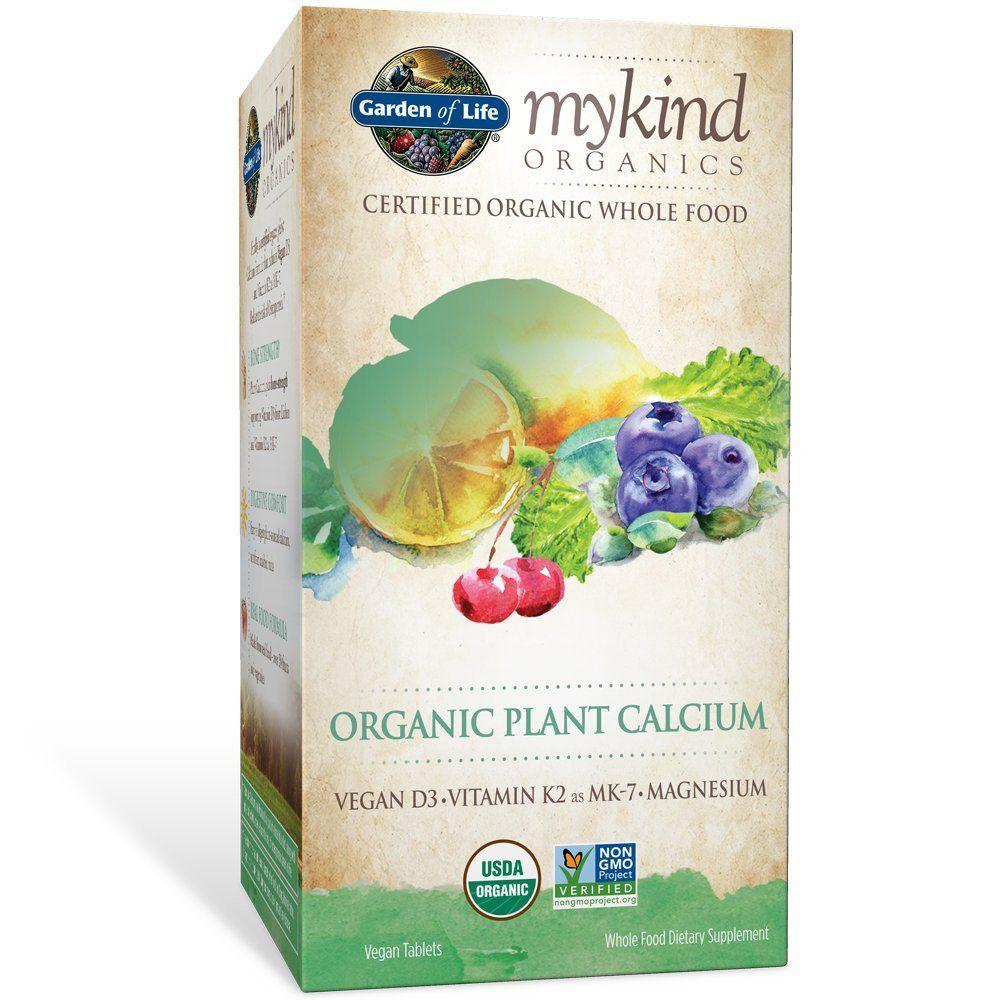 Garden of Life mykind Organic Plant Calcium Vegan Whole