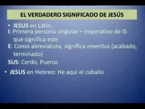 El Verdadero Significado De Jesus En 40 Segundos De Jesus Jesus