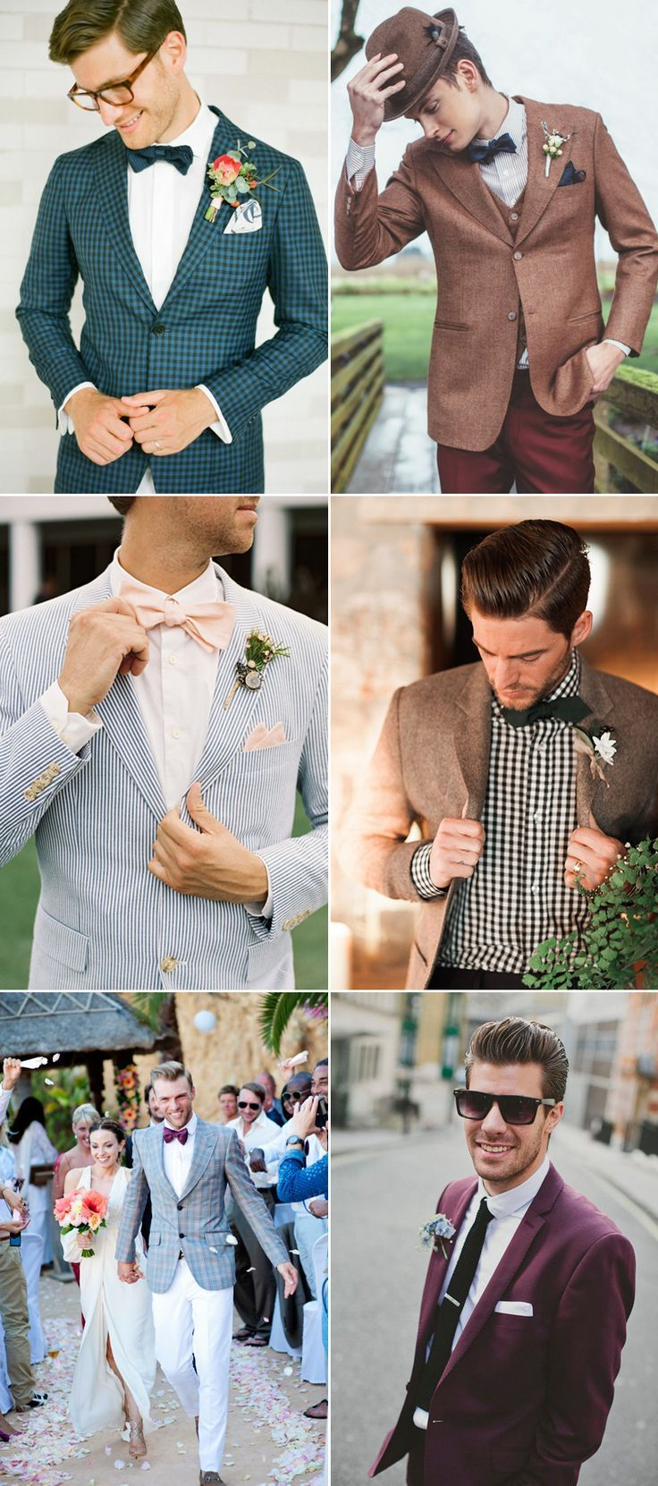 How To Style Your Groom Vintage Ways and Items to Create the Perfect Vintage-Inspired Groom Attire! Find the perfect look for your groom at www.pinterest.com/laurenweds/wedding-groom?utm_content=bufferf36a7&utm_medium=social&utm_source=pinterest.com&utm_campaign=buffer