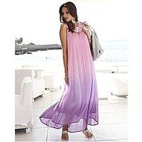 Joanna Hope Dip Dye Bead Trim Maxi Dress - Large Size Clothing - www.plussizedglamour.co.uk