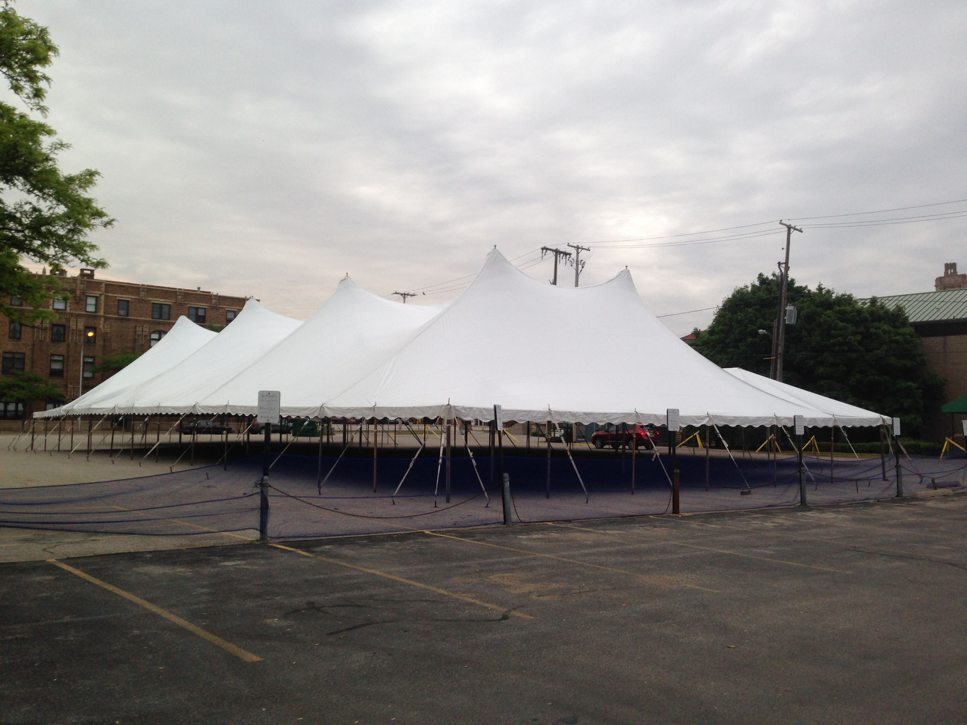 60 wide tent we use for the muskegon museum of arts gala