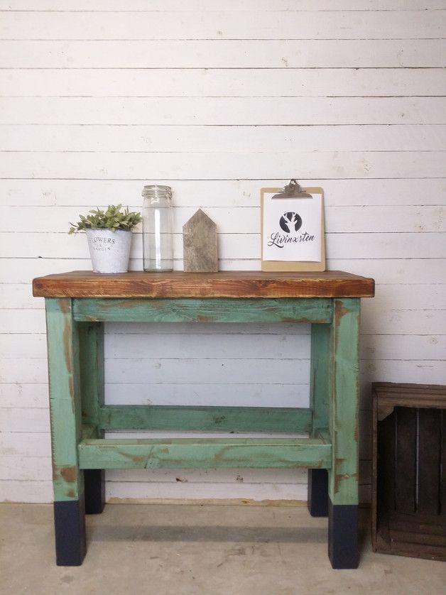 Kücheninsel im Vintage-Look, neu gebaut und auf alt getrimmt - k cheninsel selber bauen