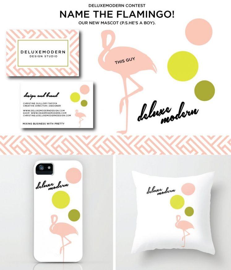 Deluxemodern Flamingo
