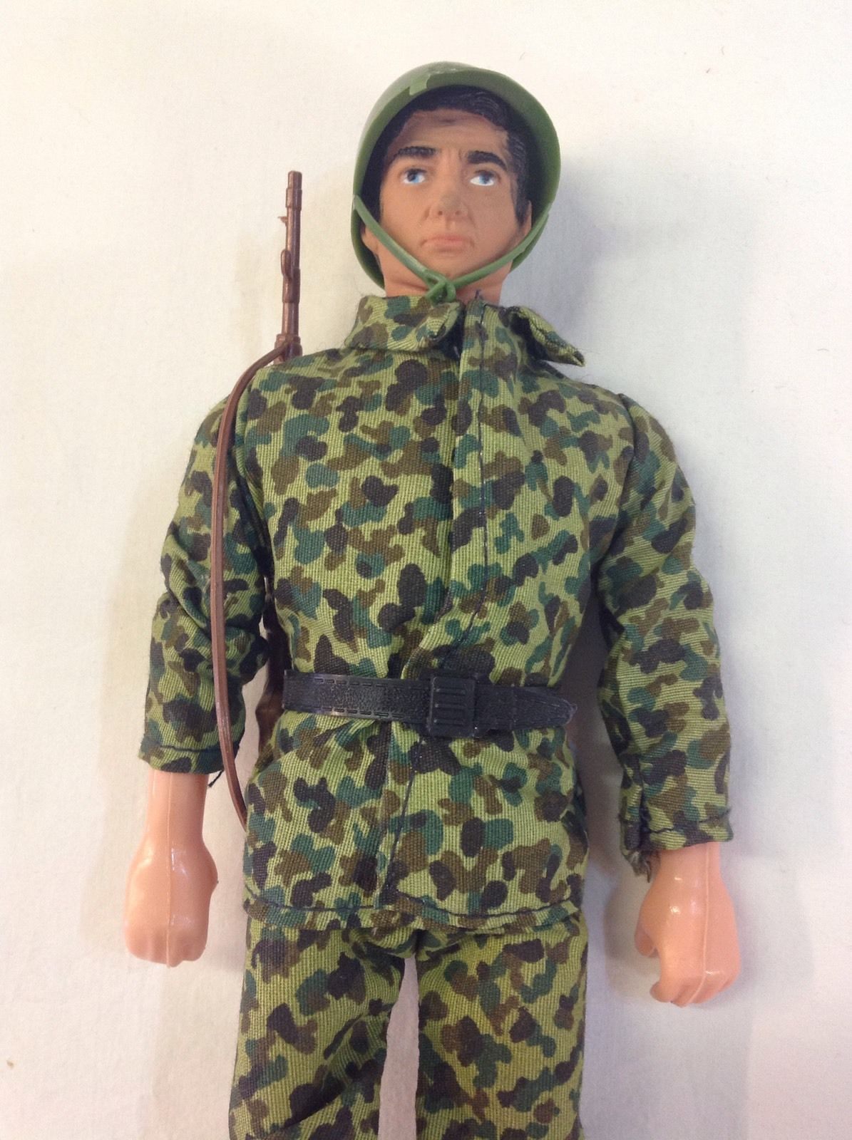 Vintage 1970s Action Man GI Joe Knock Off Dick Furia Boxed Figure