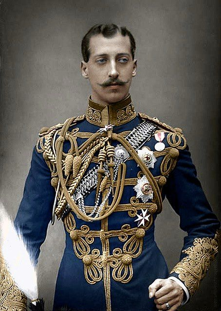 """Prince Albert Victor, Duke of Clarence and Avondale (Albert Victor Christian Edward; 8 January 1864 – 14 January 1892), the eldest child of Albert Edward, Prince of Wales (later King Edward VII), and the grandson of the reigning British monarch, Queen Victoria."""""""