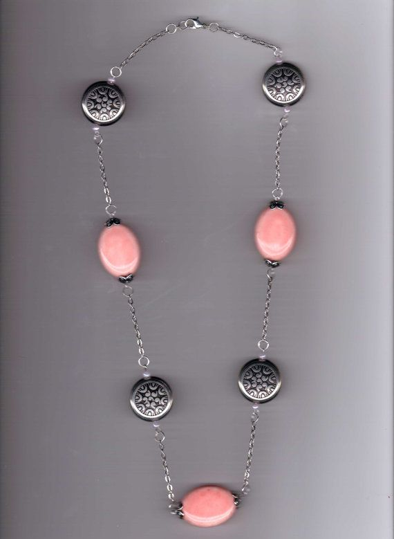Peachie Pink Handmade Ceramic/Acrylic Metal Bead by Aaccezzories, $10.00 Use Coupon Code  WEEKEND1 for 50% off total purchase. Minimum purchase of $15.00. Now until June 08, 2014.