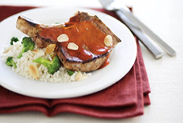 One bite of these lightly glazed, moist pork chops will have your family hooked - line and sinker!