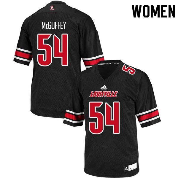 ab4a513c Women Louisville Cardinals #54 Andrew McGuffey College Football ...